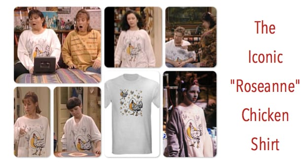 The Roseanne Chicken Shirt