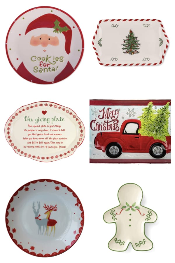 Christmas Cookie Plates