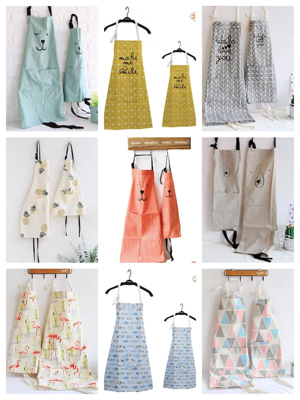 Cheap Mommy and Me Aprons