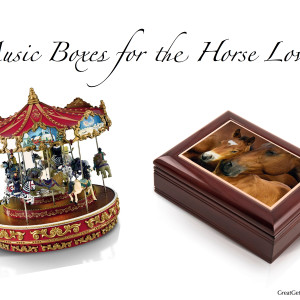 Music Boxes for the Horse Lover
