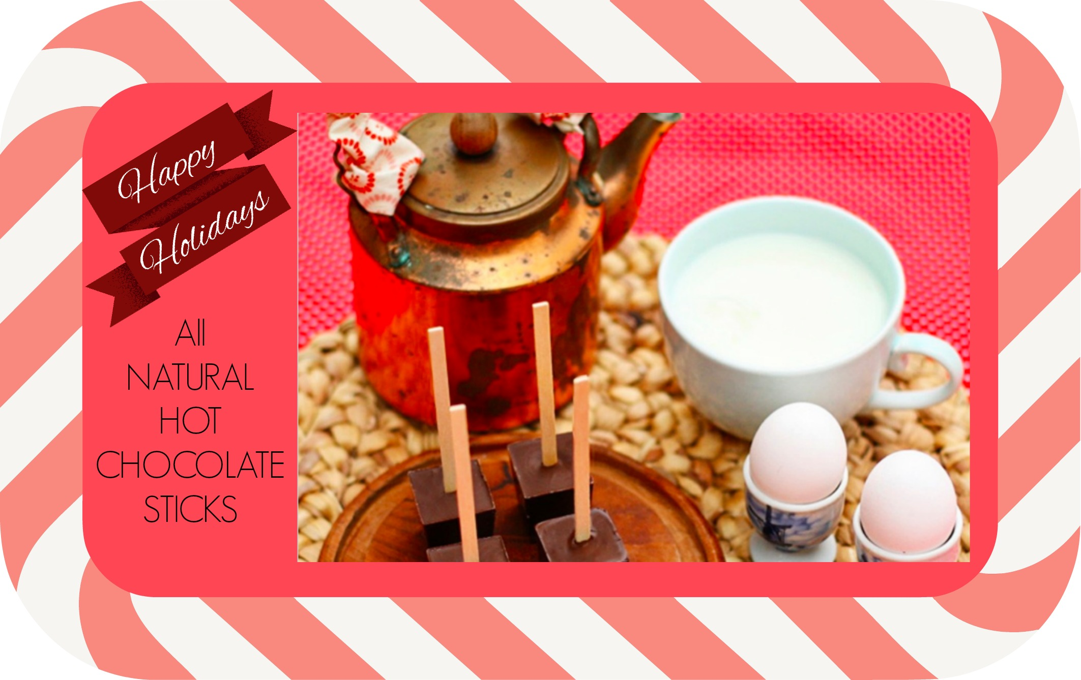 All Natural Hot Chocolate Sticks
