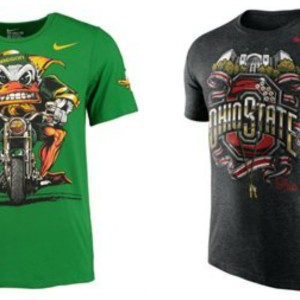 Graphic Bold College T-shirts by Nike