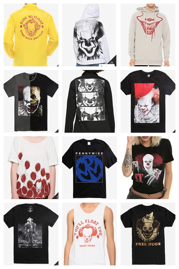 Creepy Clown T-Shirts & Sweatshirts